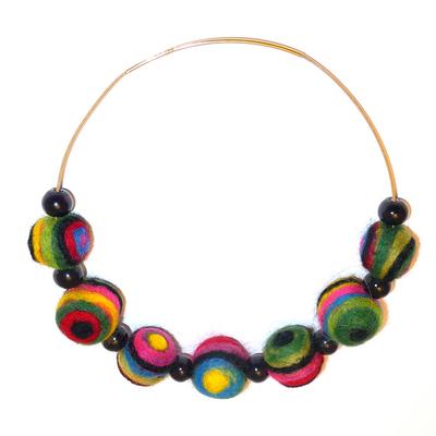 Image Eye Bead Necklace