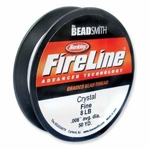 8lb crystal clear Fireline | Fireline