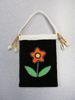 Image Old Style Floral Miniature Trade Bag