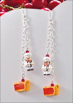 Image Cherry Pie Earrings