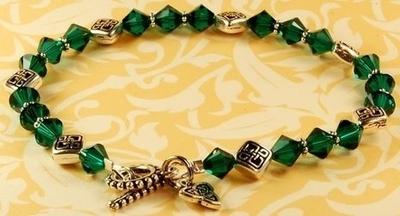 Luck of the Irish Bracelet | Jewelry Design Ideas
