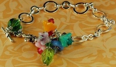 Angela's Garden Bracelet | Jewelry Design Ideas