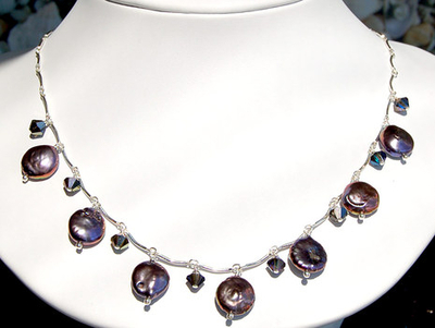 Pearl And Sparkle Necklace Jewelry Design Ideas Jewelry Design Ideas