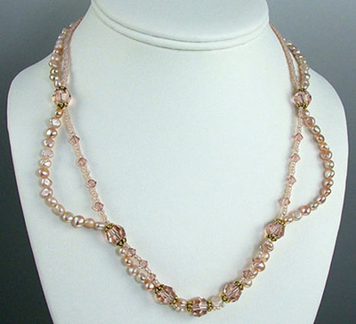 vintage freshwater pearl necklace jewelry design ideas
