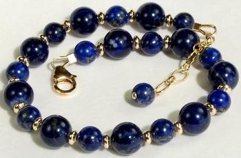 Jewelry Design Ideas silver jewelry design ideas Lapis Blueberry Bracelet Jewelry Design Ideas