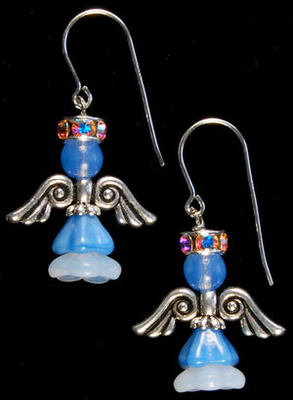 Angelic Earrings | Custom-designed Earring Project KitAlluring Sapphire Earrings | Custom-designed Earrings Project Kit