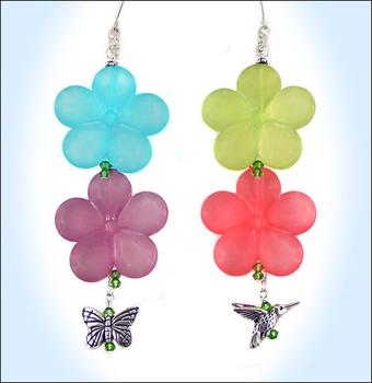 Happy Flower Earrings | Jewelry Design Ideas