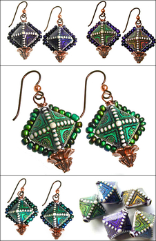 Northern Lights Color-changing Earrings | Jewelry Design Ideas