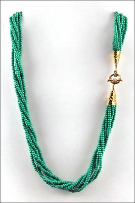 Emerald Lagoon Necklace | Jewelry Design Ideas