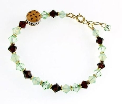 Sparkling Mint Chip Bracelet | Jewelry Design Ideas