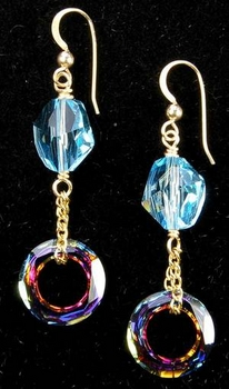 Swarovski Cosmic Crystal Earrings | Jewelry Design Ideas