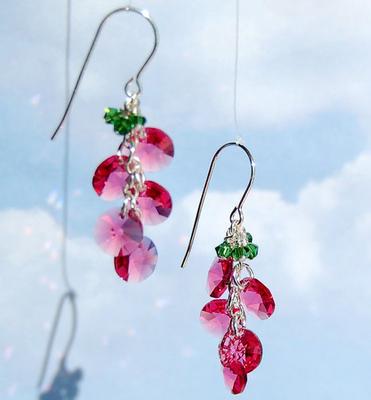 Cluster of Cherries Earrings | Jewelry Design Ideas