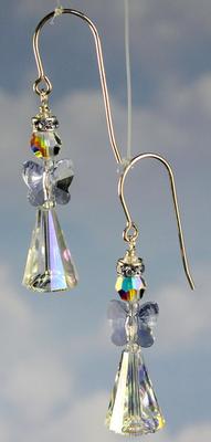 Elegant Angel Earrings | Jewelry Design Ideas