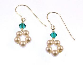 Zircon Earrings   Jewelry Design Ideas