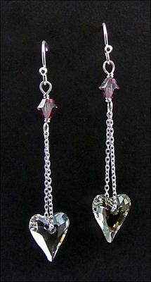 Love in a Mist Earrings | Jewelry Design Ideas