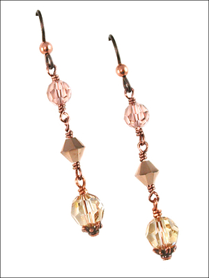 Classic Crystal Enduring Earrings | Jewelry Design Ideas