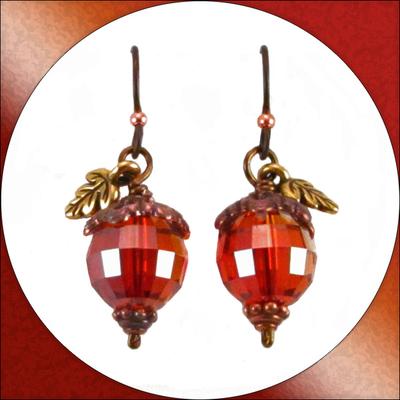 Acorn Earrings | Jewelry Design Ideas