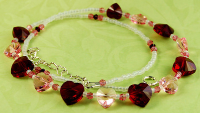 My Heart's Desire Crystal Necklace | Jewelry Design Ideas