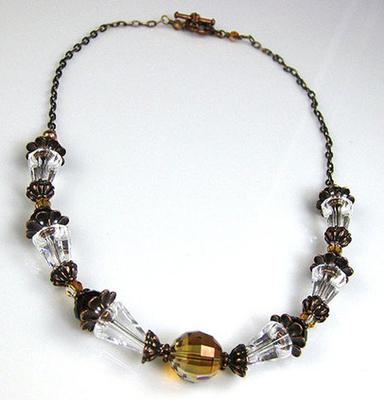 Harvest Huntress Necklace | Jewelry Design Ideas