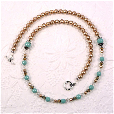Classic Vintage Pearl Necklace | Jewelry Design Ideas