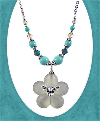Jewelry Design Ideas jewelry design lariat style necklace and earring set with czech glass beads and seed Bee Happy Necklace Jewelry Design Ideas
