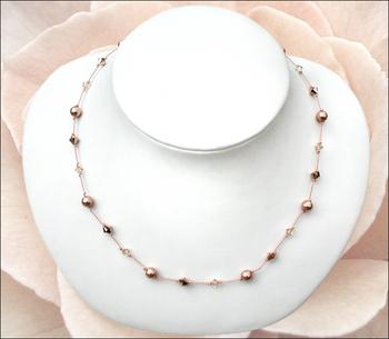 Modern Elegance Bridal Necklace | Jewelry Design Ideas