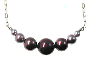 Bridal Radiant Orchid Pearl Necklace   Jewelry Design Ideas