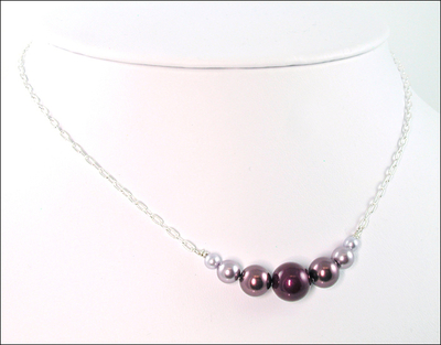 Radiant Orchid Pearl Necklace | Jewelry Design Ideas