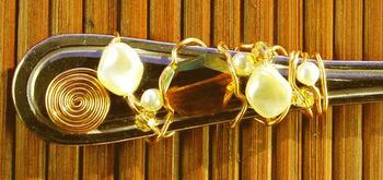 Crystal Woven Flatware | Jewelry Design Ideas