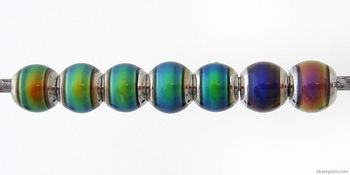 5mm Mirage Round Color-changing Mood Bead | Thermosensitive Specialty Beads