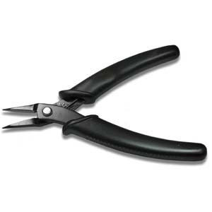 chain nose plier 5.5 inch black | Tools