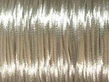 2mm round light beige Rat Tail Satin Cord | Rat Tail Satin Cord