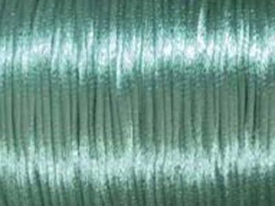 2mm round turquoise Rat Tail Satin Cord | Rat Tail Satin Cord