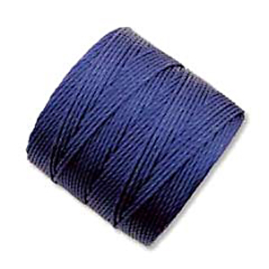 .5mm, extra-heavy #18 capri blue Superlon bead cord | Superlon bead cord