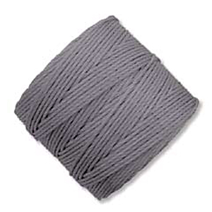 .5mm, extra-heavy #18 grey Superlon bead cord | Superlon bead cord