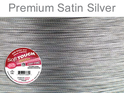 Soft Touch .010 (extra thin) clear (grey) Soft Flex Wire | Soft Flex Wire