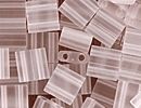 Japanese Miyuki Tila Bead - Crystal - Transparent Matte Finish | Glass Seed Beads