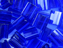 Japanese Miyuki Tila Bead - Cobalt - Transparent Finish | Glass Seed Beads