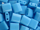 Japanese Miyuki Tila Bead - Turquoise Blue - Opaque Finish | Glass Seed Beads