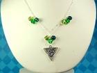 St. Patrick's Day Charm Necklace
