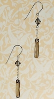 20mm Column Pendant Earrings