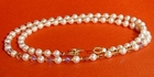 Pearl, Crystal and Seed Bead Necklace