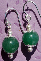 Sweet Aventurine Earrings