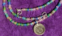 Pastel Om Necklace