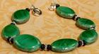 Fanciful Green Bead Bracelet