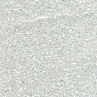 Image Seed Beads Miyuki Seed size 11 gilt lined opal gilt lined