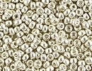 Seed Beads Miyuki Seed size 11 galvanized silver metallic