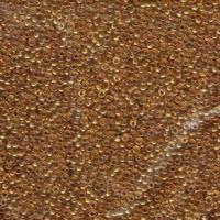Image Seed Beads Miyuki Seed size 11 topaz transparent