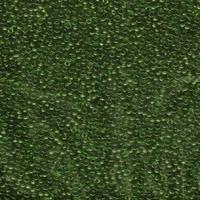 Image Seed Beads Miyuki Seed size 11 olive green transparent