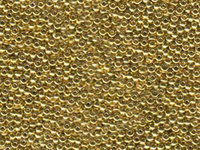 Image Seed Beads Miyuki Seed size 11 24k light gold plate metallic
